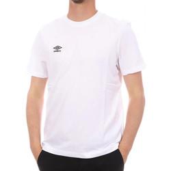 textil Hombre Camisetas manga corta Umbro  Blanco