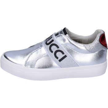 Zapatos Niña Slip on Fiorucci BH178 Plata