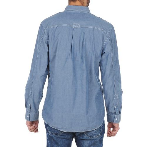 Manga Textil Cooper Greyven Hombre Larga Azul Camisas Lee sQtrCxBhd