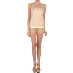 textil Mujer Shorts / Bermudas Majestic SOLENE Beige