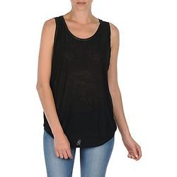 textil Mujer camisetas sin mangas Majestic MANON Negro