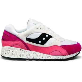 Zapatos Zapatillas bajas Saucony Baskets  shadow 6000 blanc/gris