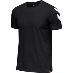 textil Hombre Camisetas manga corta Hummel T-shirt  hmlLEGACY chevron noir