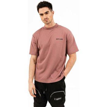 textil Hombre Camisetas manga corta Sixth June T-shirt  essential rose