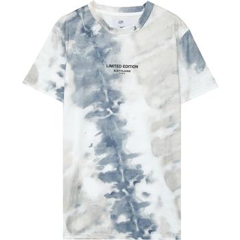 textil Hombre Camisetas manga corta Sixth June T-shirt  tie dye beige