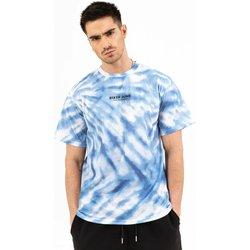 textil Hombre Camisetas manga corta Sixth June T-shirt  tie dye bleu