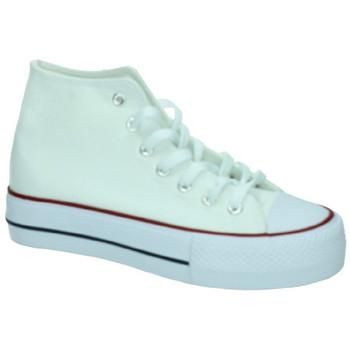 Zapatos Mujer Zapatillas altas Demax Zapatilla plataforma BLANCO