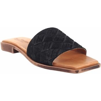 Zapatos Mujer Sandalias Eva Frutos Sandalia señora  c28 negro Negro
