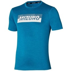 textil Hombre Camisetas manga corta Mizuno Core Graphic Tee Azul