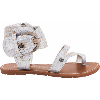 Zapatos Mujer Sandalias Chattawak Sandales11.S  Pensée argent Plata