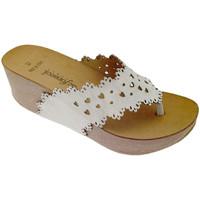 Zapatos Mujer Chanclas De Fonseca DEFONSANTAFEbia bianco