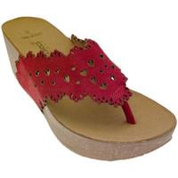 Zapatos Mujer Chanclas De Fonseca DEFONSANTAFEros rosso