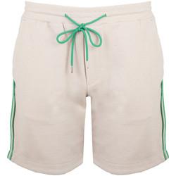 textil Hombre Shorts / Bermudas Bikkembergs  Beige