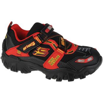 Zapatos Niños Senderismo Skechers Damager III-Fire Stopper Noir