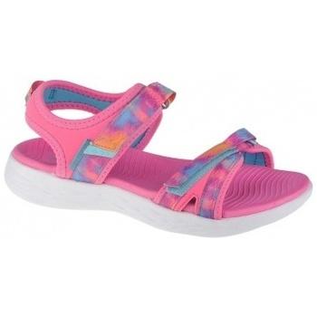 Zapatos Niña Sandalias Skechers On The Go 600-Tide Turner rosa