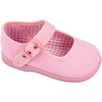 Zapatos Niña Bailarinas-manoletinas Andrea Ruiz 951 ROSA