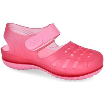 Zapatos Niña Sandalias IGOR BAY FUXIA