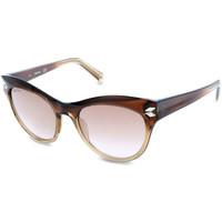 Relojes & Joyas Mujer Gafas de sol Swarovski - SK0171 Marrón