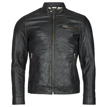 textil Hombre Chaquetas de cuero / Polipiel Selected SLHICONIC Negro