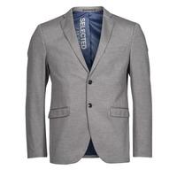 textil Hombre Chaquetas / Americana Selected SLHSLIM JIM Gris