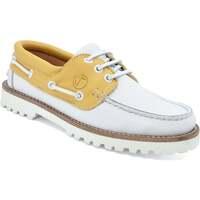 Zapatos Mujer Zapatos náuticos Seajure Náuticos Quirimbas Amarillo y blanco