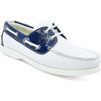 Zapatos Mujer Zapatos náuticos Seajure Náuticos Ffryes Azul marino y blanco