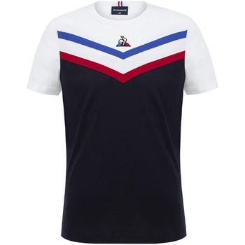 textil Niño Camisetas manga corta Le Coq Sportif Tricolore Tee SS N°1 Kids Azul