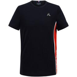 textil Niño Camisetas manga corta Le Coq Sportif Tech Tee SS N°1 Kids Azul