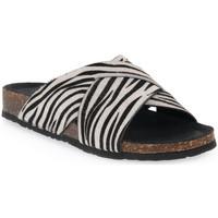 Zapatos Mujer Zuecos (Mules) Bionatura CAVALLINO BIANCO Bianco
