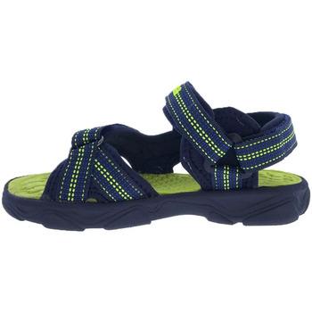 Zapatos Niños Sandalias de deporte Joma Chanclas  Wave Jr 2103 Navy Green Fluor Azul