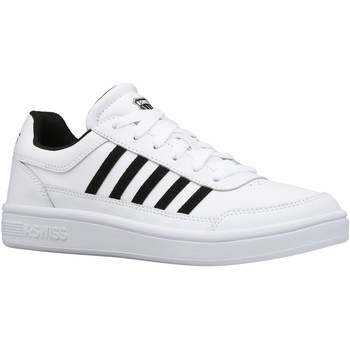 Zapatos Mujer Zapatillas bajas K-Swiss Court Chasseur Wit