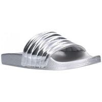 Zapatos Mujer Chanclas Kelara K12020 Mujer Plata Argenté