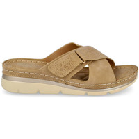 Zapatos Mujer Zuecos (Mules) Bubble Bobble M2085 TAUPE