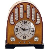 Casa Relojes Signes Grimalt Reloj Sobremesa Radio Beige