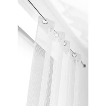 Casa Cortinas transparentes Linder FILET Blanco