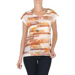 textil Mujer camisetas manga corta TBS JINTEE Blanco