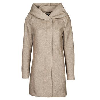 textil Mujer Abrigos Only ONLSEDONA Marrón