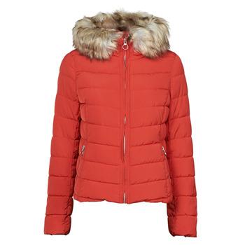 textil Mujer Plumas Only ONLNEWELLAN Rojo
