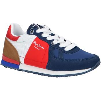 Zapatos Niños Multideporte Pepe jeans PBS30487 SYDNEY Azul