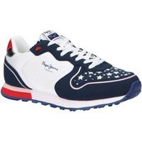 Zapatos Niña Multideporte Pepe jeans PGS30496 KLEIN STARS Azul