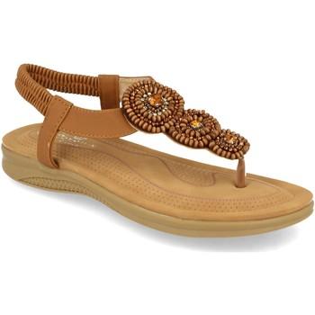 Zapatos Mujer Sandalias H&d YZ19-319 Camel
