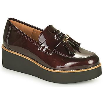 Zapatos Mujer Mocasín Fericelli JOLLEGNO Burdeo