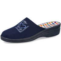 Zapatos Mujer Zuecos (Clogs) L&R Shoes 6614016 AZUL