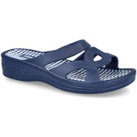 Zapatos Mujer Zuecos (Mules) L&R Shoes SD2628 AZUL