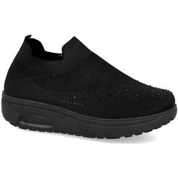 Zapatos Mujer Zapatillas bajas L&R Shoes YS3601-1 NEGRO