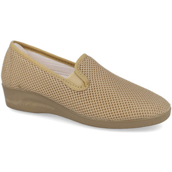 Zapatos Mujer Slip on L&R Shoes 600 BEIG