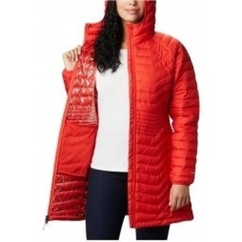 textil Mujer Plumas Columbia Powder Lite Mid Jacket naranja