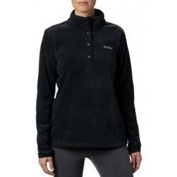 textil Mujer Polaire Columbia Benton Springs 12 Snap Pullover negro