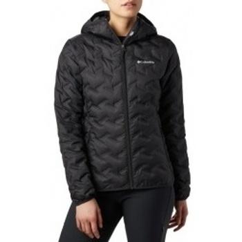 textil Mujer Plumas Columbia Delta Ridge Down Hooded Jacket negro