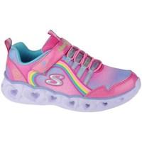 Zapatos Niña Fitness / Training Skechers Heart Lights Rainbow Lux Rosa